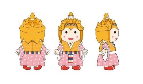 中山寺 キャラクター